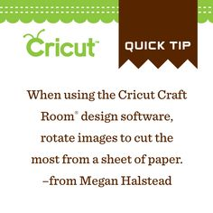 Use Craft Room to get the most cuts out of your paper!