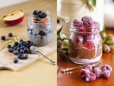 Pudding de chia en 2 façons #vegan et sans gluten
