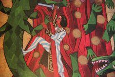 """Aus dem """"Roten Buch"""" von C. G. Jung (Der Drachenkampf, ein archetypisches Motiv)"""