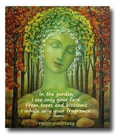 Gaia's themes are abundance, providence, thankfulness, nature, divination… Gaia, Sacred Feminine, Divine Feminine, Mother Earth, Mother Nature, Earth Goddess, Divine Goddess, Mother Goddess, Green Man