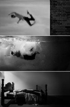 Twenty one-year-old photographer Edward Honaker documents his own depression in powerful self-portraits. The series of black and white images illustrates the photographer's experience with depression. Narrative Photography, Conceptual Photography, Dark Photography, Artistic Photography, Digital Photography, Portrait Photography, Sadness Photography, Sequence Photography, Photography Series