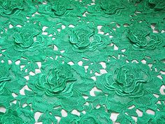 Hey, I found this really awesome Etsy listing at https://www.etsy.com/listing/105690616/emerald-green-bridal-lace-fabric-with
