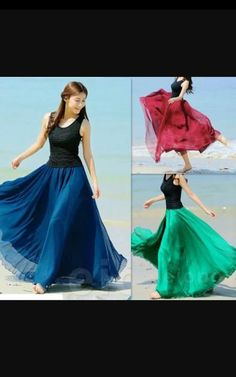 bf60ed5dc1e9 Maxi Skirt Boho, Cheap Gowns, Casual Skirts, Summer Skirts, Ballet Costumes,
