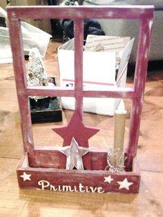 Primitive window box