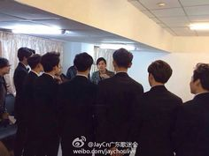 [OFFICIAL] 141214 Jay Chou Weibo Update with EXO