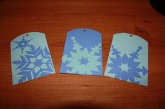 Christmas tags Silhouette Projects
