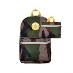 Sac 2 en 1 - Camouflage/Jaune