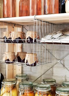 Visit IKEA online to browse our range of food storage & food storage containers. Find plenty of home furnishing ideas and inspiration at IKEA today. Extra Storage Space, Storage Bins, Storage Spaces, Glass Jars, Clear Glass, Ikea Decor, Ikea Family, A Shelf, Glass Shelves