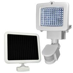 Weatherproof 80-LED Solar Powered Motion Sensor Light