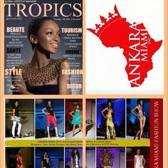 Thanks to @TropicsMagazine (#SouthAfrica) for our 2nd #AnkaraMiami2013 feature! C/o the #April2013 edition including @Sumahrie Collections, @AFRClothing, @AkuTees, #RareHoneyArtwear, & #UnapologeticPresence! #TropicsMagazine #AfricanFashion #AfricanMagazine #AnkaraMiami #TropicsMag #SouthAfrican #Magazine - cc: @BeUnapologetic --- facebook.com/TropicsMagazineWorld