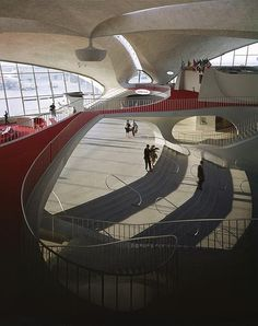 TWA - Trans World Flight Center, opened in 1962 as a standalone terminal at New York City's John F. Kennedy International Airport (JFK)