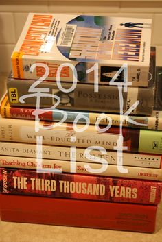 Lemon Verbena: 2014 Book List