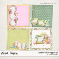 Retro Chic QP Set by Melissa Bennett