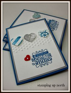 Monday, January 27, 2014 stamping up north: Stampin Up Cards....Hello Sailor, High Tide dsp 2014 occasions catalog