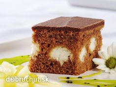 Čokoládové rezy s tvarohom