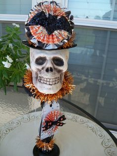 The Count  A Whimsical Halloween Decoration by JeanKnee on Etsy, $22.00