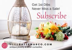 Subscribe to Learn, Discover & Participate in Special Promotions #vbantiquejewelry