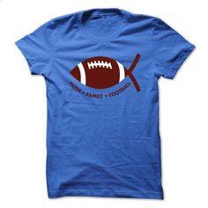 Faith.Family.Football/Brown - #t shirts design #hoodies womens. ORDER HERE => https://www.sunfrog.com/Faith/FaithFamilyFootballBrown-RoyalBlue-52378997-Guys.html?id=60505