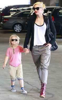 pThe rocker mom and her sweet son bring their coolness to Beverly Hills./p
