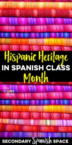 hispanic heritage month posters famous hispanic americans  hispanic heritage month in spanish class secondary spanish space