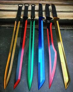 These are just perfect. They look well sharpened and have perfected color