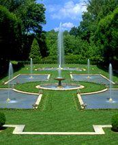 Longwood Gardens Italian Water garden