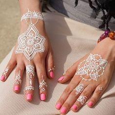 white henna - Google Search