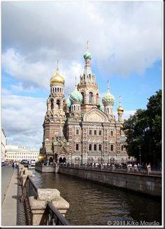 Igreja Sangue Derramado _ São Petersburgo