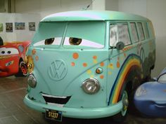 Fillmore!!!! VW Bus from Pixar Cars movie!