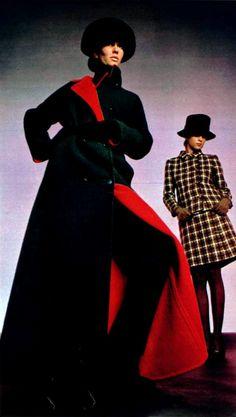 Seventies Fashion, 1960s Fashion, Vintage Fashion, Twiggy, Victoria Beckham, Kappor, Feelin Groovy, Purple Coat, She's A Lady