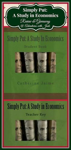 Simply Put: A Study in #Economics (A Review & Double Giveaway) #homeschool #highschool