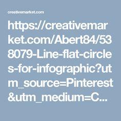 https://creativemarket.com/Abert84/538079-Line-flat-circles-for-infographic?utm_source=Pinterest&utm_medium=CM Social Share&utm_campaign=Product Social Share&utm_content=Line flat circles for infographic ~ Presentation Templates on Creative Market