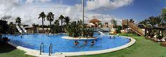 Panorámica de la piscina by Camping Marjal Guardamar, via Flickr