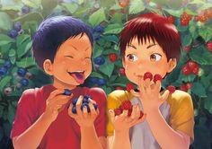 335724-1000x707-kuroko+no+basket-aomine+daiki-kagami+taiga-okada+zari+(pixiv+Id+3651167)-short+hair-open+mouth.jpg (1000×707)