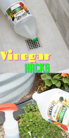 Awesome ways to use vinegar that can save you money and make cleaning super easy for you. You can even use it to remove odor from your bathroom drain. #cleaning#cleaninghacks#householdhacks#cleaningtips#householdtips