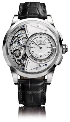 Jaeger-LeCoultre Hybris Mechanica 55 Grande Sonnerie watch #montres #watches #homme