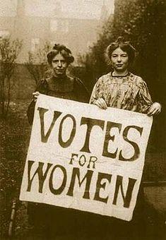 Suffragette - Annie Kennedy & Christabel Pankhurst