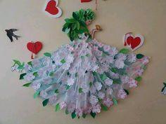 Комментарии к теме Backdrop Decorations, School Decorations, Birthday Decorations, Diy And Crafts, Crafts For Kids, Arts And Crafts, Paper Crafts, Paper Lotus, Nursery Activities