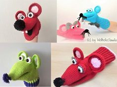 Baby Knitting Patterns Scarves Crochet hand puppets 'Rosi and Pepper' Puppet Patterns, Baby Knitting Patterns, Crochet Patterns, Felt Puppets, Hand Puppets, Glove Puppets, Crochet Amigurumi, Crochet Dolls, Octopus Crochet Pattern
