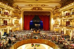 Opera House AND bookstore in one? Amazing! But - Is it complete with narcoleptic argentinians?