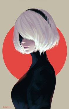 This HD wallpaper is about Japan, Nier: Automata, (Nier: Automata), digital art, Original wallpaper dimensions is file size is Nier Automata Game, Neir Automata, Creation Image, Character Art, Character Design, Bd Comics, Video Game Art, Kawaii Anime, Cyberpunk