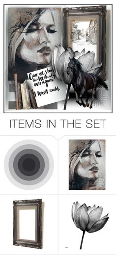 """be happy"" by sandevapetq ❤ liked on Polyvore featuring art"