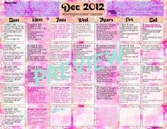 Get your December Workout Calendar HERE!!