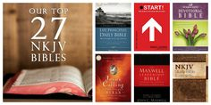 If you're having trouble with how to select the NKJV Bible that's right for you, we're here to help. Here's our Top 27 NKJV Bibles: Our Favorite Picks  http://www.faithgateway.com/top-nkjv-bibles/#.UoK3AZSKJRo
