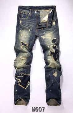 Fashion Levis Mens Jeans are these for church? - Men Jeans - Ideas of Men Jeans - Fashion Levis Mens Jeans are these for church? Ripped Jeans Men, Denim Pants, Street Jeans, Denim Fashion, Fashion Outfits, Jeans Outlet, Teen Boy Fashion, Mode Style, Swagg
