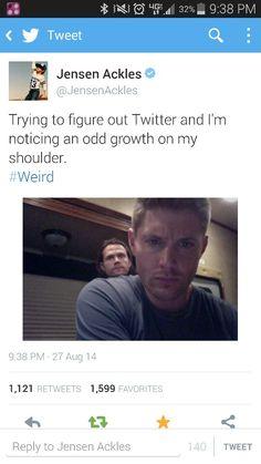 Jensen tweets.