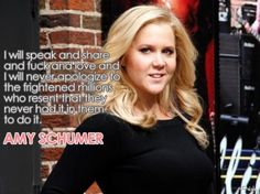Celebrity gossip, relationship advice, sex tips and more for real women everywhere! I Am Woman Quotes, Strong Women Quotes, Amy Schumer Quotes, Amy Shumer, I Will Be Okay, Parody Videos, Body Love, Badass Quotes, Life Humor
