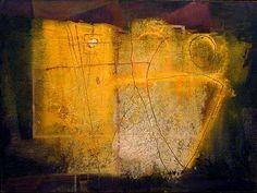 Antoni Tapies. Love this yellow