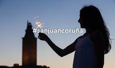 Este año ven a las playas de Riazor y el Orzán para vivir San Juan como se merece #sanjuancoruña Adidas Logo, Saints, Beaches, Live, Cities