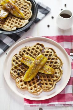 Sour Cream Waffles w